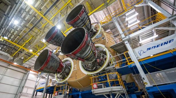 SLS Core Stage for Artemis I