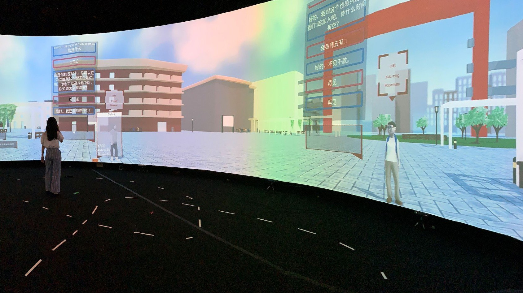 A new immersive classroom uses AI and VR to teach Mandarin Chinese