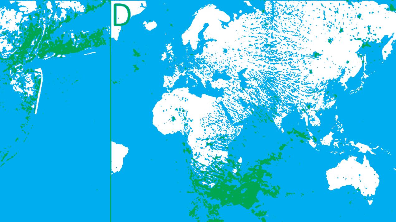image of a stylized map