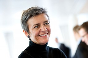 EU antitrust commissioner Margrethe Vestager