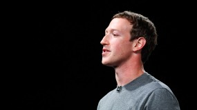 Mark Zuckerberg giving a speech