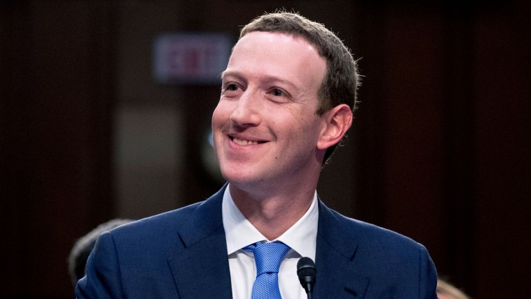 Mark Zuckerberg appears before Congress in 2018
