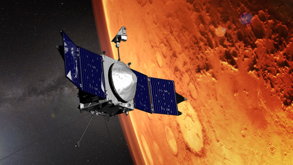 A space probe has mapped the winds above Mars for the first time
