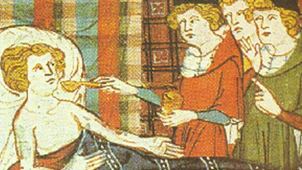 Data-mining medieval text reveals medically bioactive ingredients