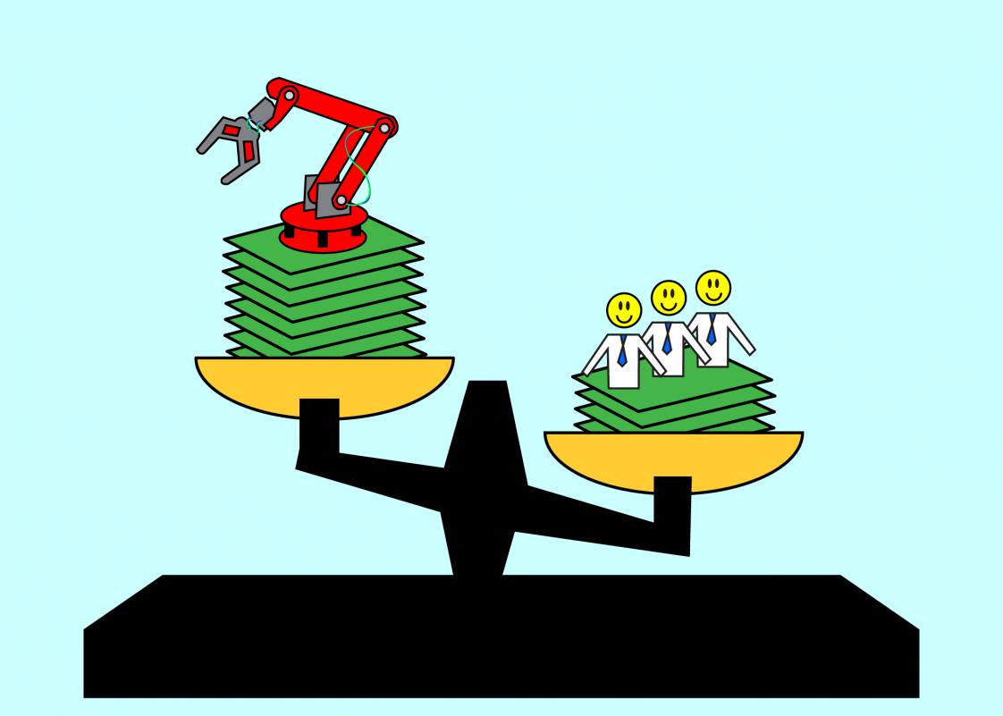 Robots versus Workers