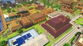 Minecraft scene