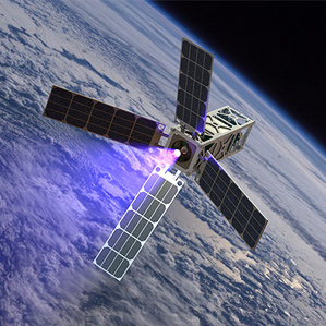 satellite from space