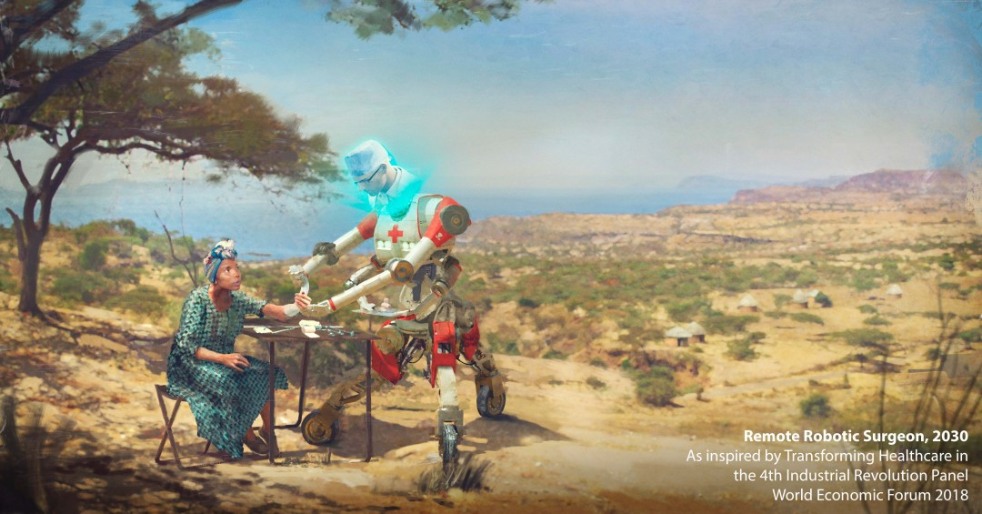 Artists envisioned the future of work, and the results are pure fantasy