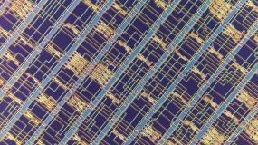 Up close photograph of nanotube