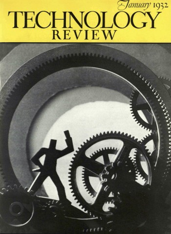 Cover Tech Review - January 1932