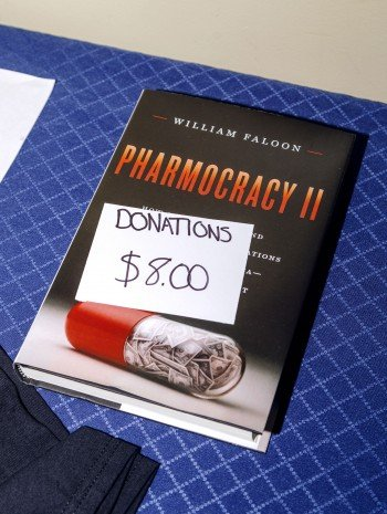 "Book titled ""Pharmocracy II"""