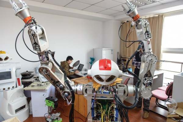 China Is Building A Robot Army Of Model Workers Mit Technology Review