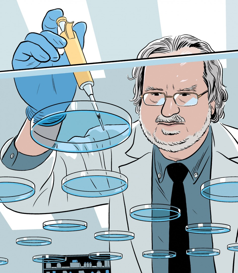 James Allison Has Unfinished Business with Cancer - MIT Technology