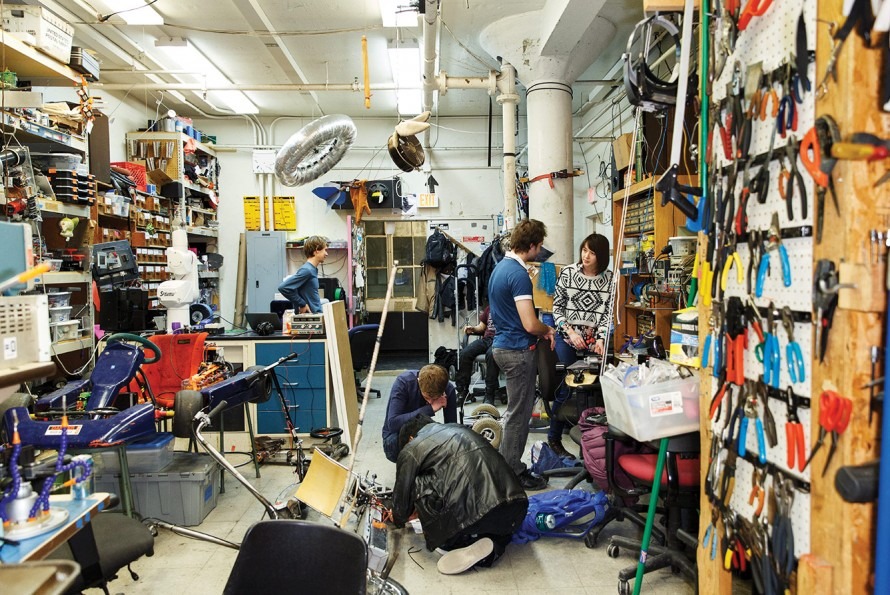 The Build-Up of MIT's Building Spaces - MIT Technology Review