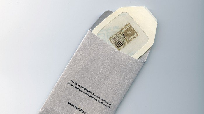 A biometric sensor in packaging
