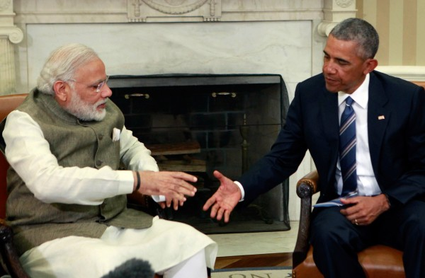 Modi and Obama Shake Hands, but India's Path to Clean Energy Remains Long