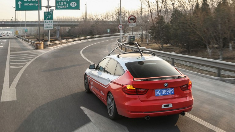 Baidu is leading the Chinese pack in autonomous driving.