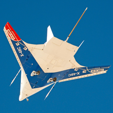 """""""Hybrid Wing"""" Uses Half the Fuel of a Standard Airplane"""