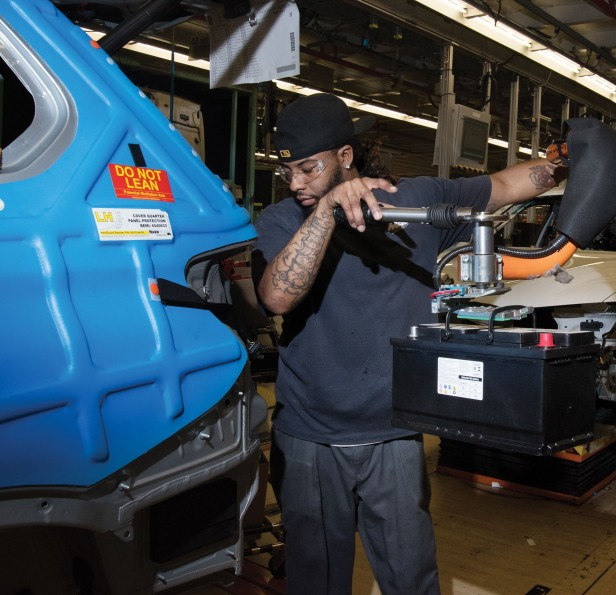 Learning to Prosper in a Factory Town - MIT Technology Review