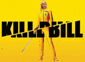 Meme in the style of the Kill Bill movie poster.