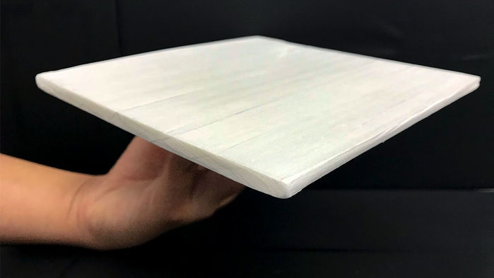 This engineered wood could help keep buildings cool by reflecting heat
