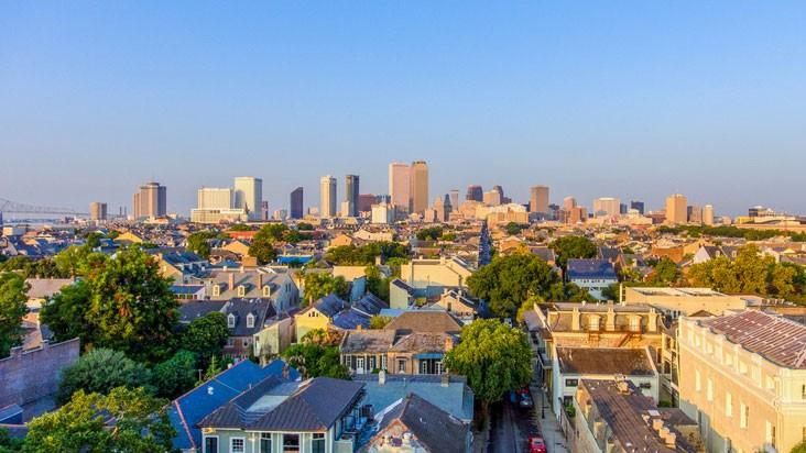 A view of New Orleans