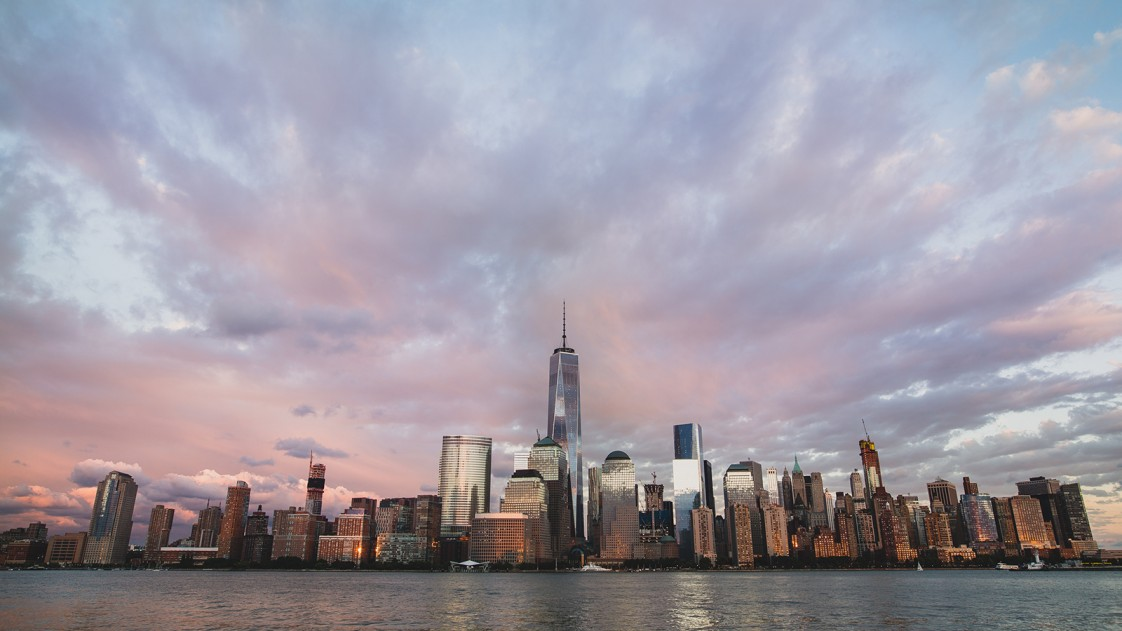 New York City stands against rising tides.