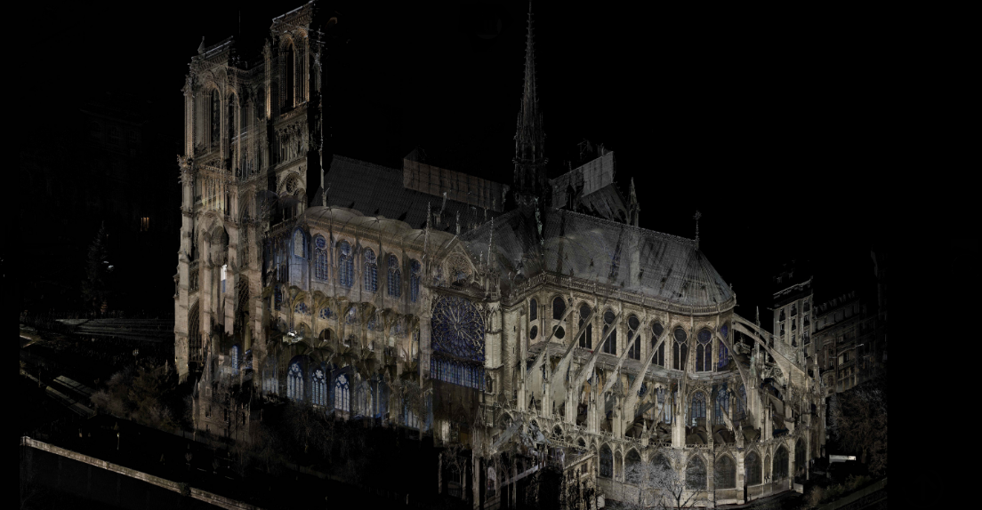This digital scan of Notre Dame offers hope for its restoration after the fire
