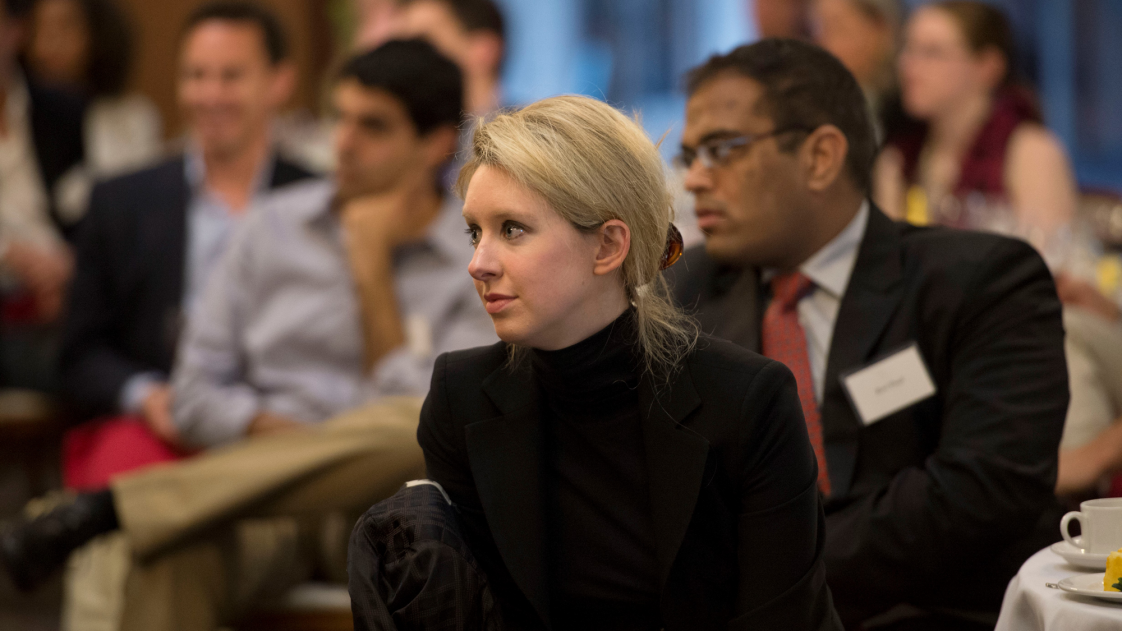 Image of former Theranos CEO Elizabeth Holmes