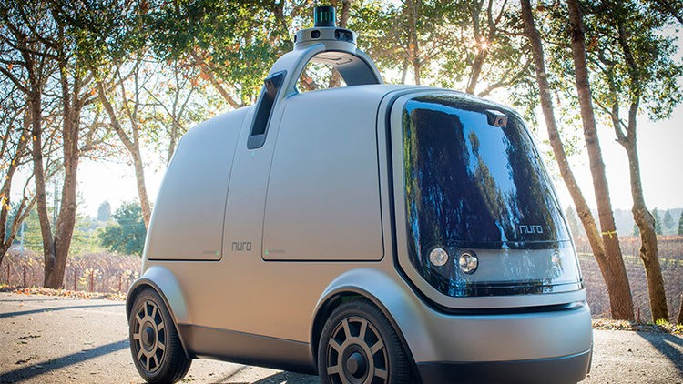 Nuro self driving van