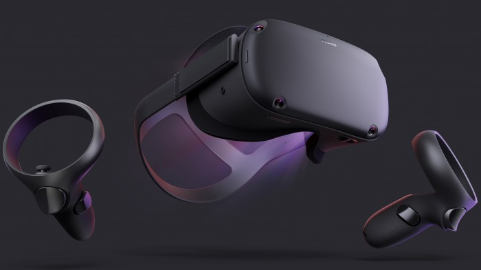 Image of Oculus Quest VR headset