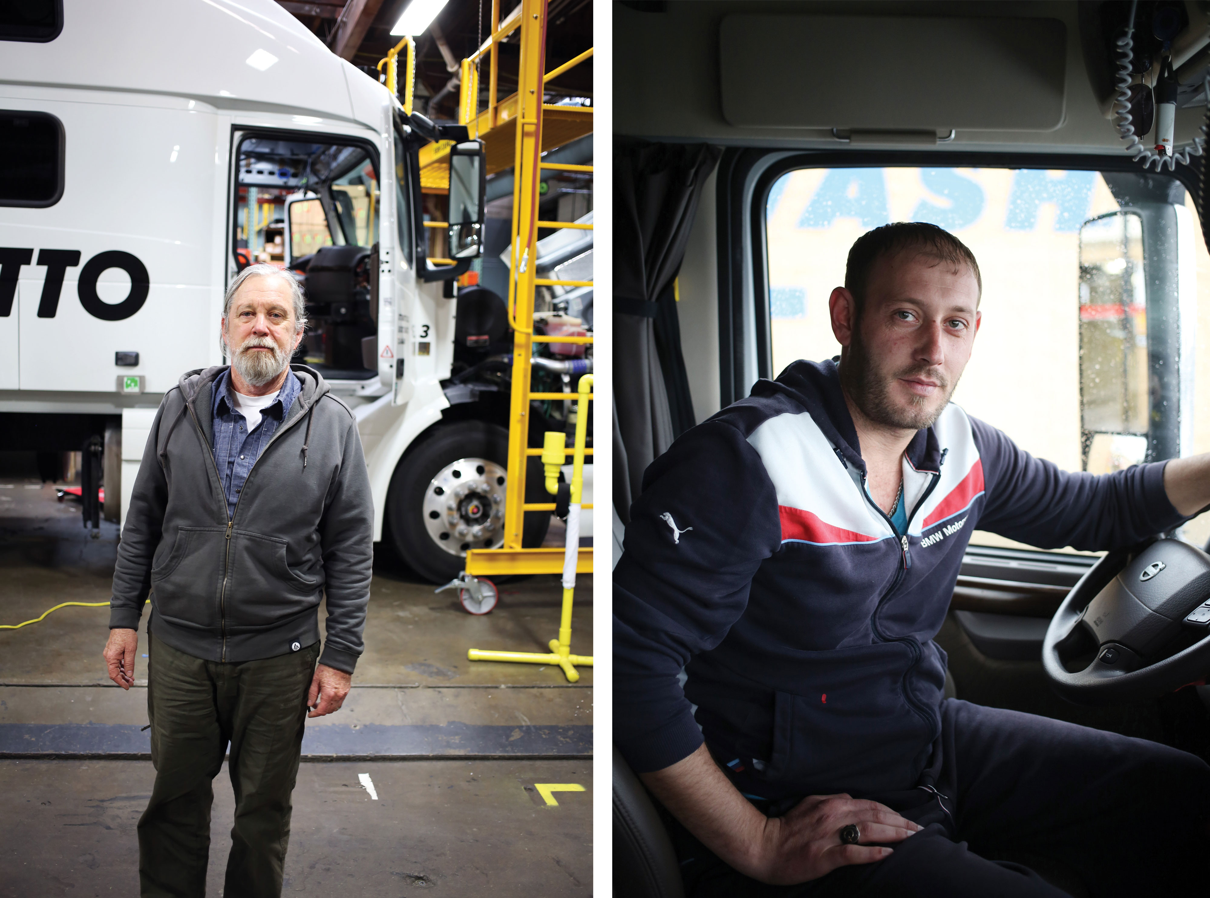 Dating a long haul truck driver