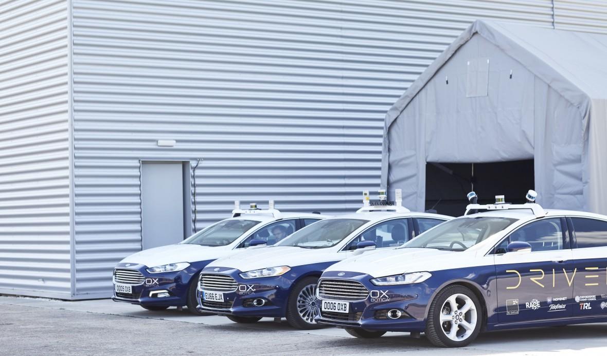 Oxbotica Ford Fusion Modelle