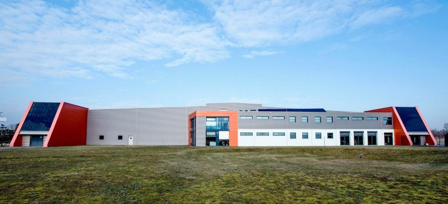 Oxford PV's manufacturing plant in Germany.