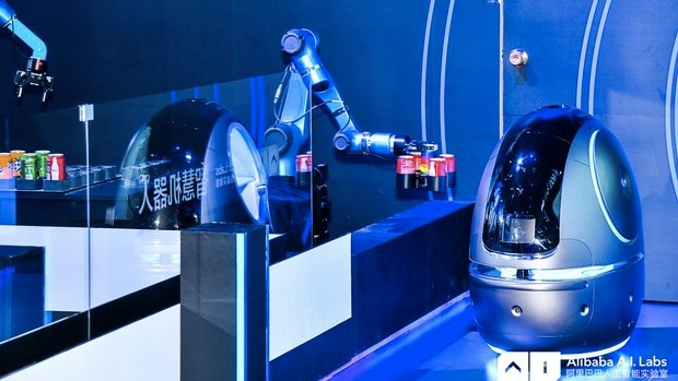 Image of the Space Egg robot.