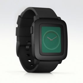 rendering of Pebble watch