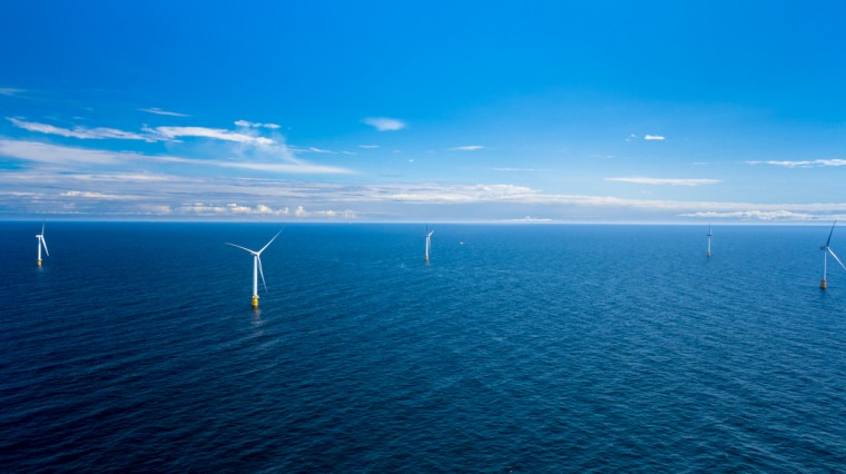 Wind power, all out at sea.
