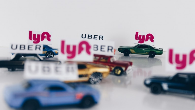 Uber and Lyft cards