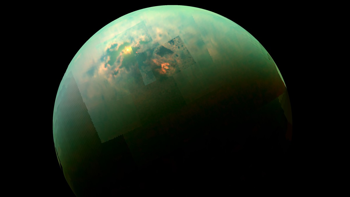 NASA's Cassini probe has discovered deep lakes on Saturn's moon Titan