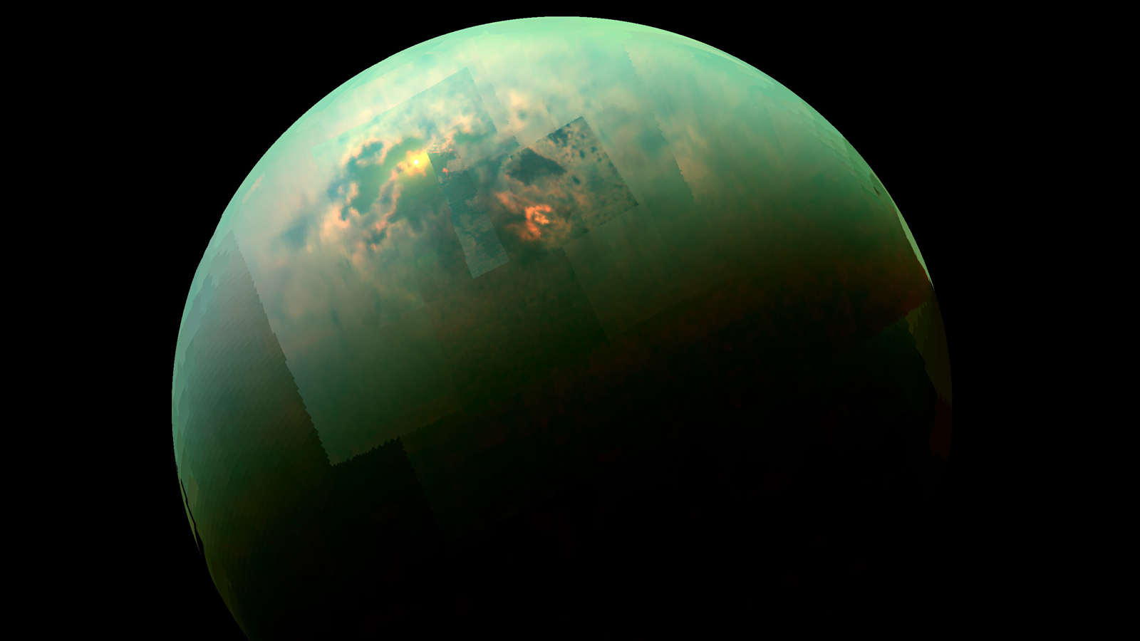 NASA's Cassini probe has discovered deep lakes on Saturn's moon Titan