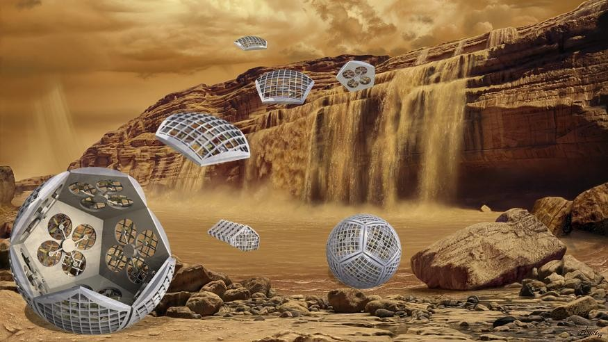 NASA is testing a shapeshifting robot that could explore Saturn's moon Titan