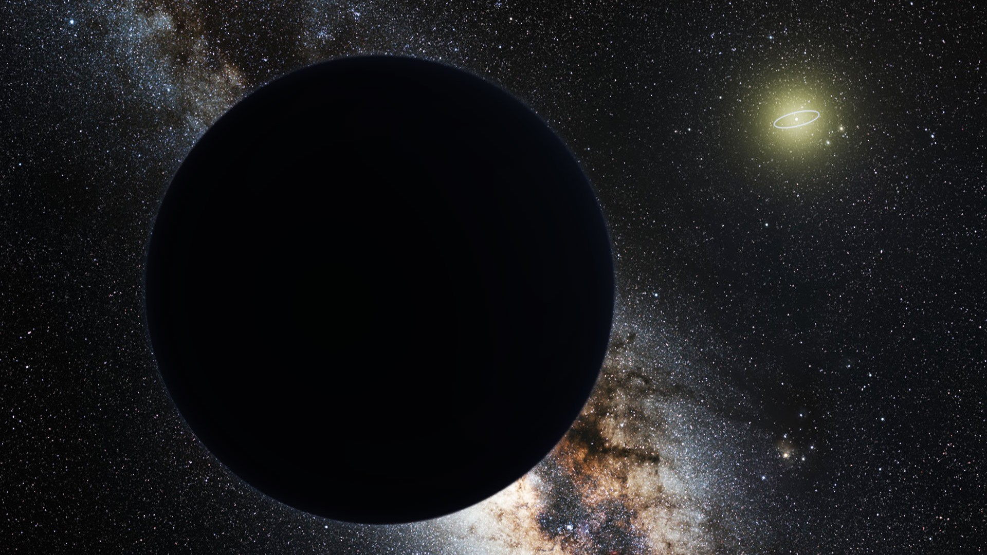 """Is """"Planet 9"""" actually a primordial black hole?"""