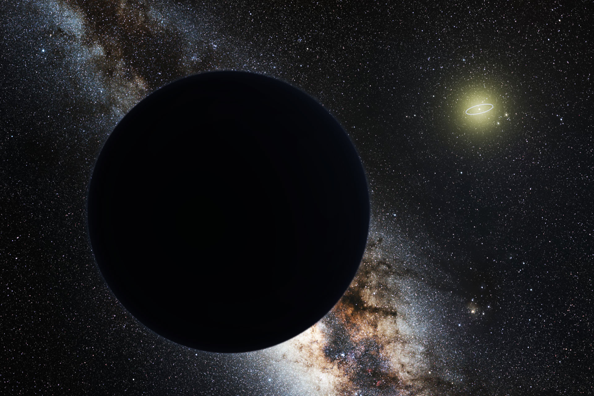 "Is ""Planet 9"" actually a primordial black hole?"
