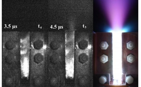 Liquid plasma microthruster