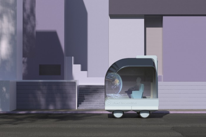 Rendering of Ikea's play pod on Wheels
