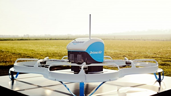 Amazon's Vision of Drone Deliveries Now Involves Parachutes