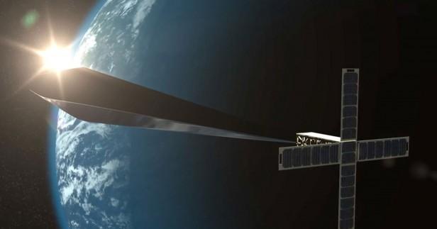 Rendering of orbital reflector