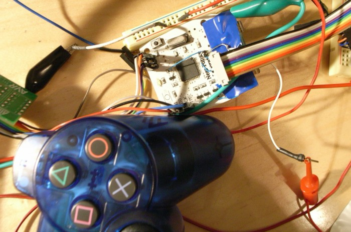 modified game controller