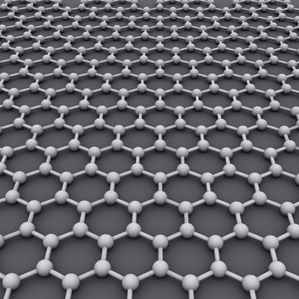 A model of the structure of graphene