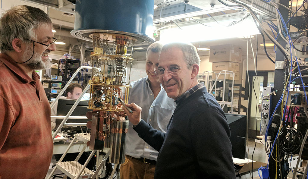 The founders of Quantum Circuits